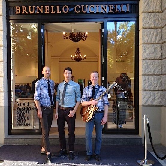 Cucinelli band Berlin