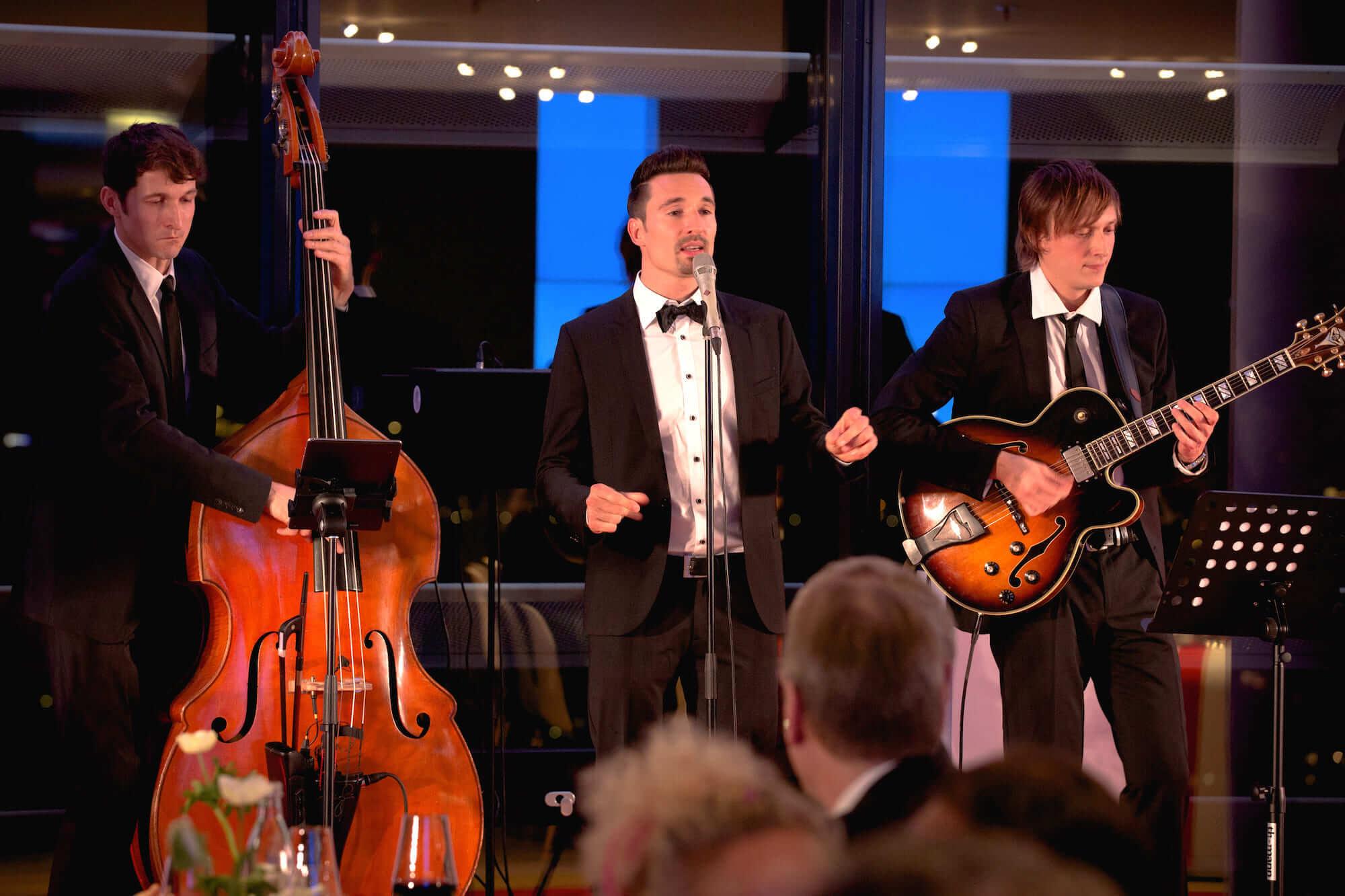 Jazzband für Ihre Weihnachtsfeier