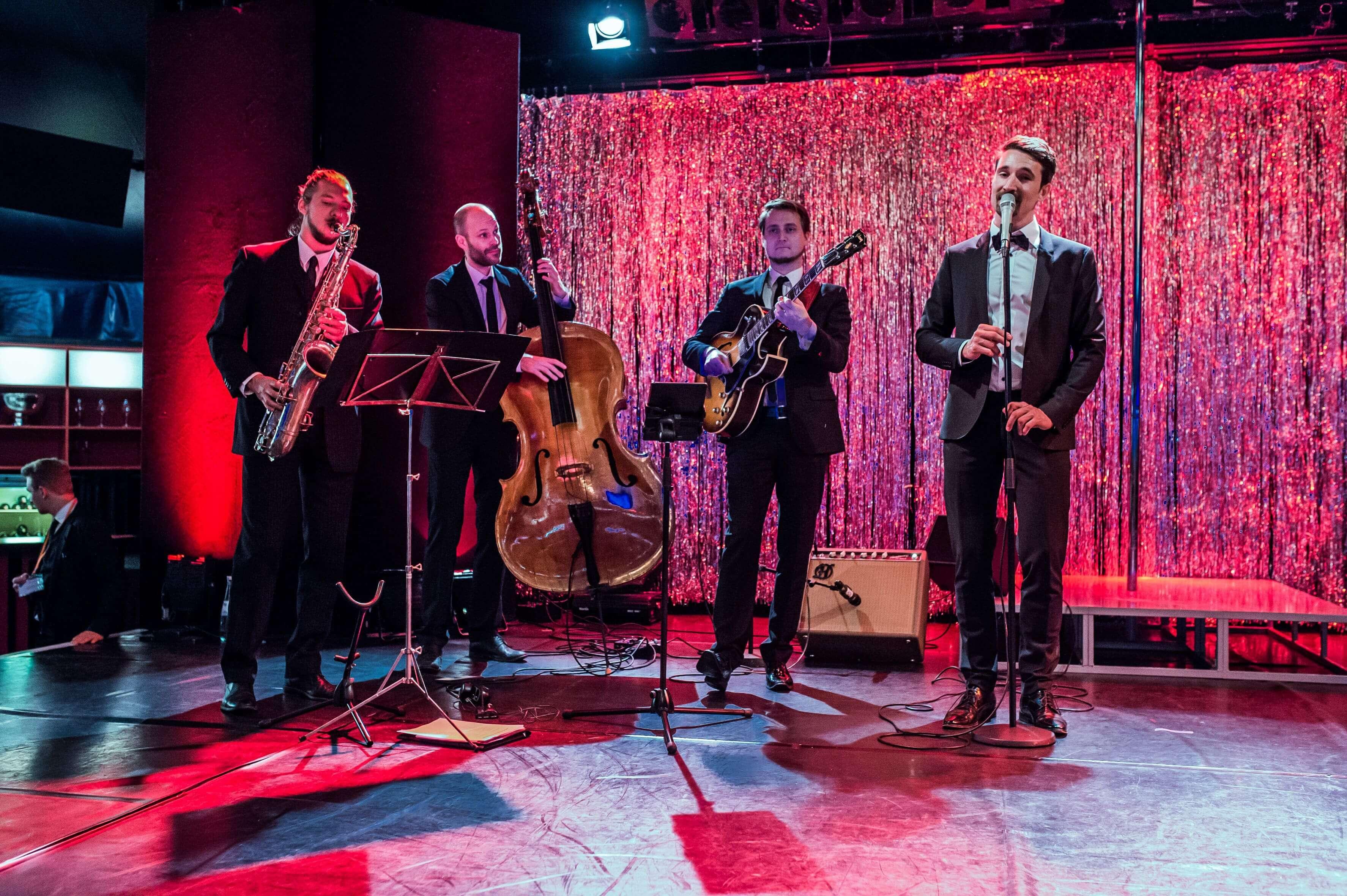 Jazzband für Silvesterfeier
