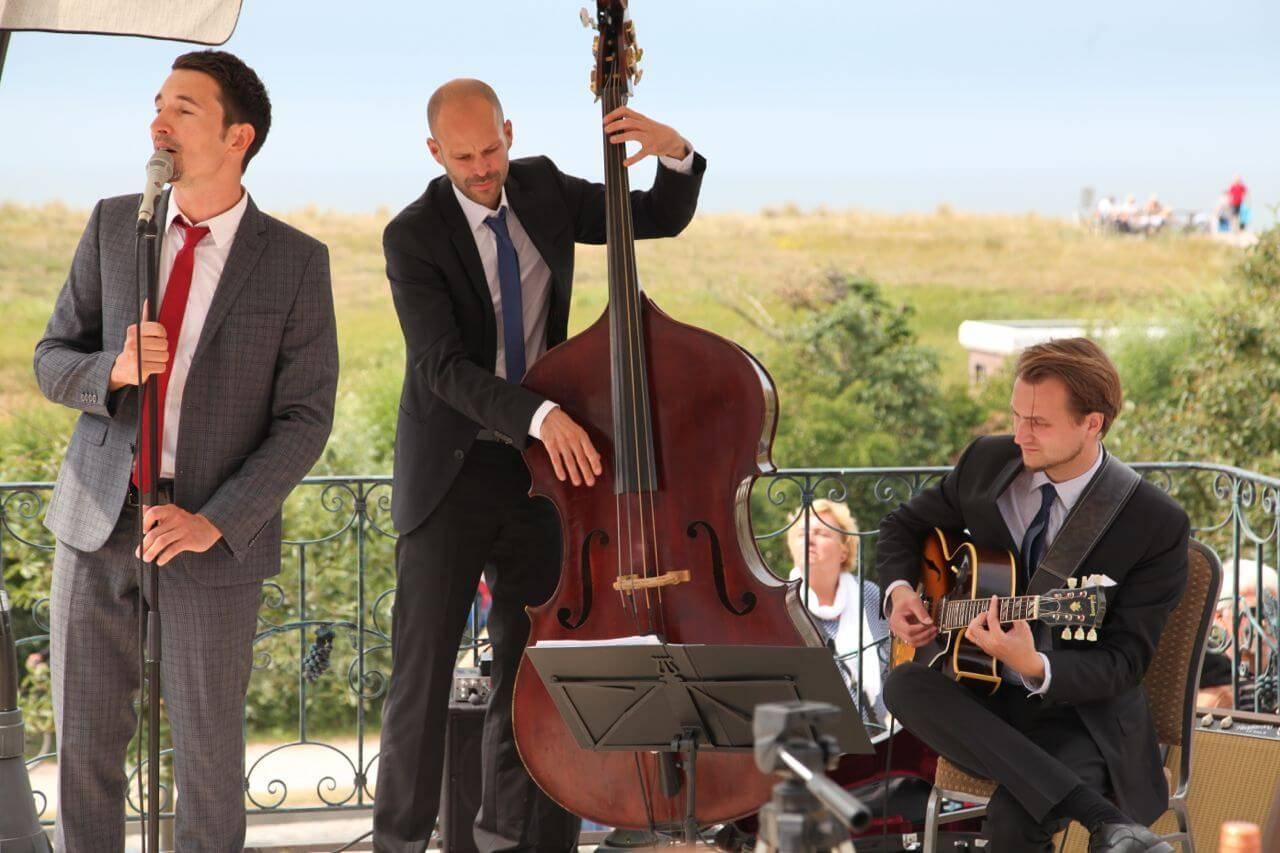 Jazzband zum Sommerfest