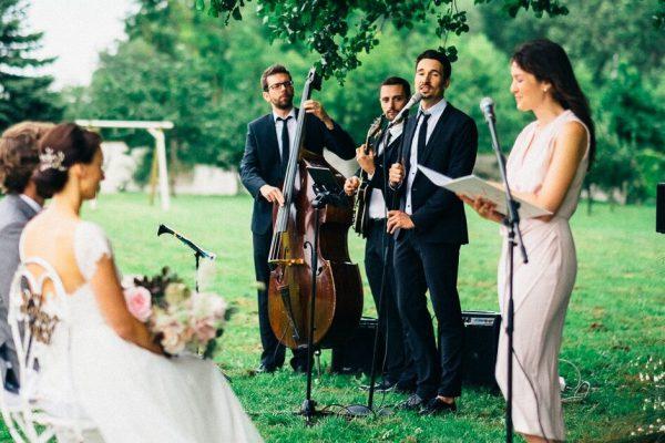 Wedding Band spielt zur Trauung