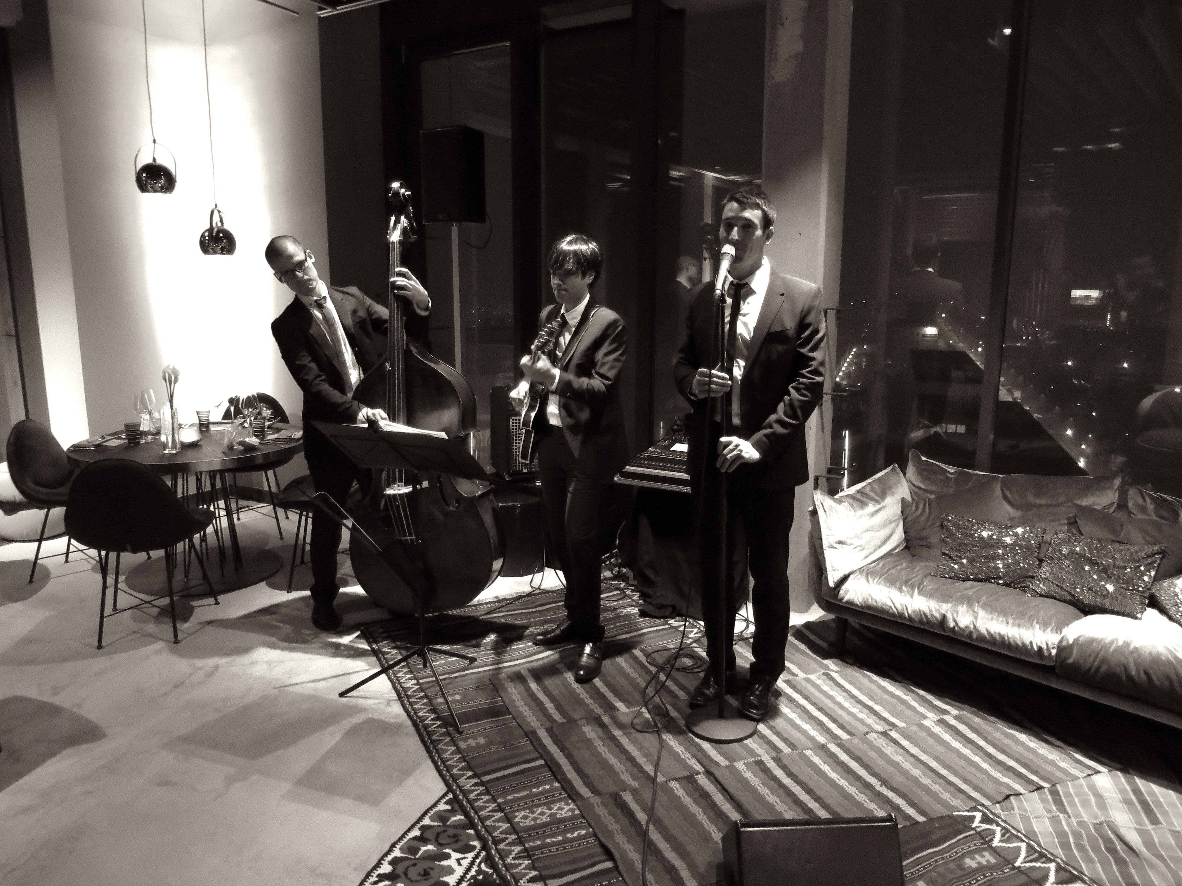 Liveband im Hotel Andels