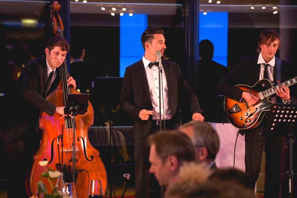 Jazztrio in Düsseldorf bei Vodafone