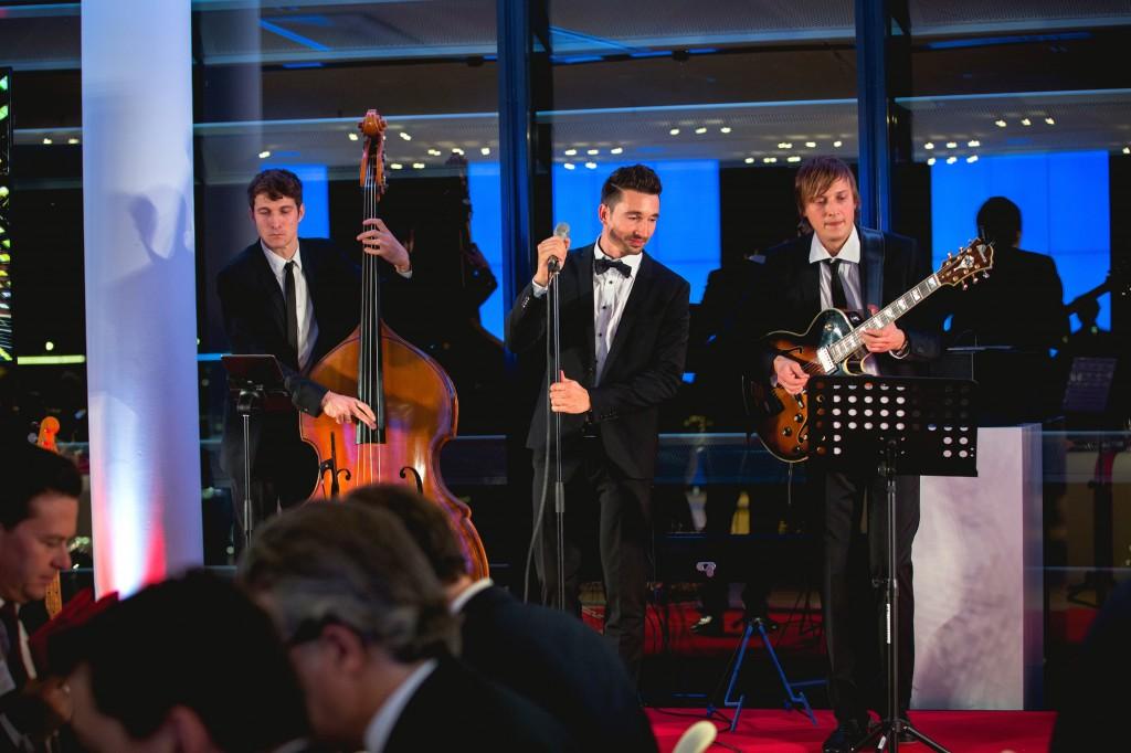 Jazzband in Düsseldorf bei Vodafone
