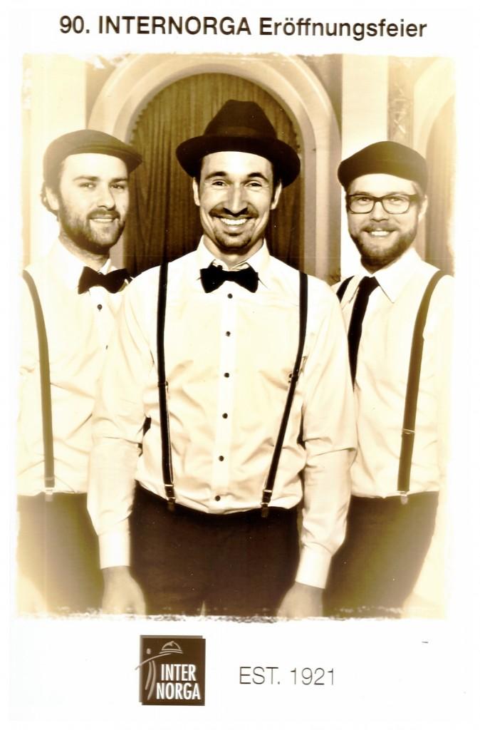 Jazzband Vocal Invitation in Hamburg