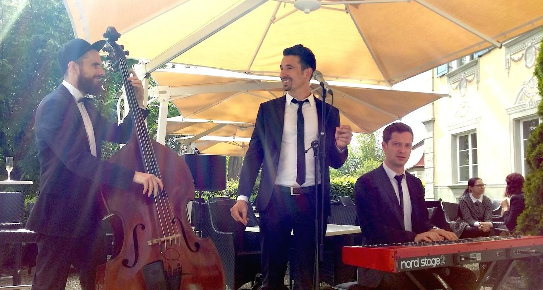 Hochzeitsband Vocal Invitation im Schloss Neutrauchburg im Allgäu