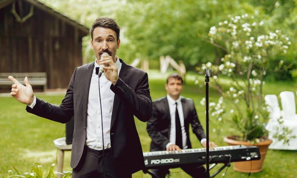Duo Band mit Gesang, Piano