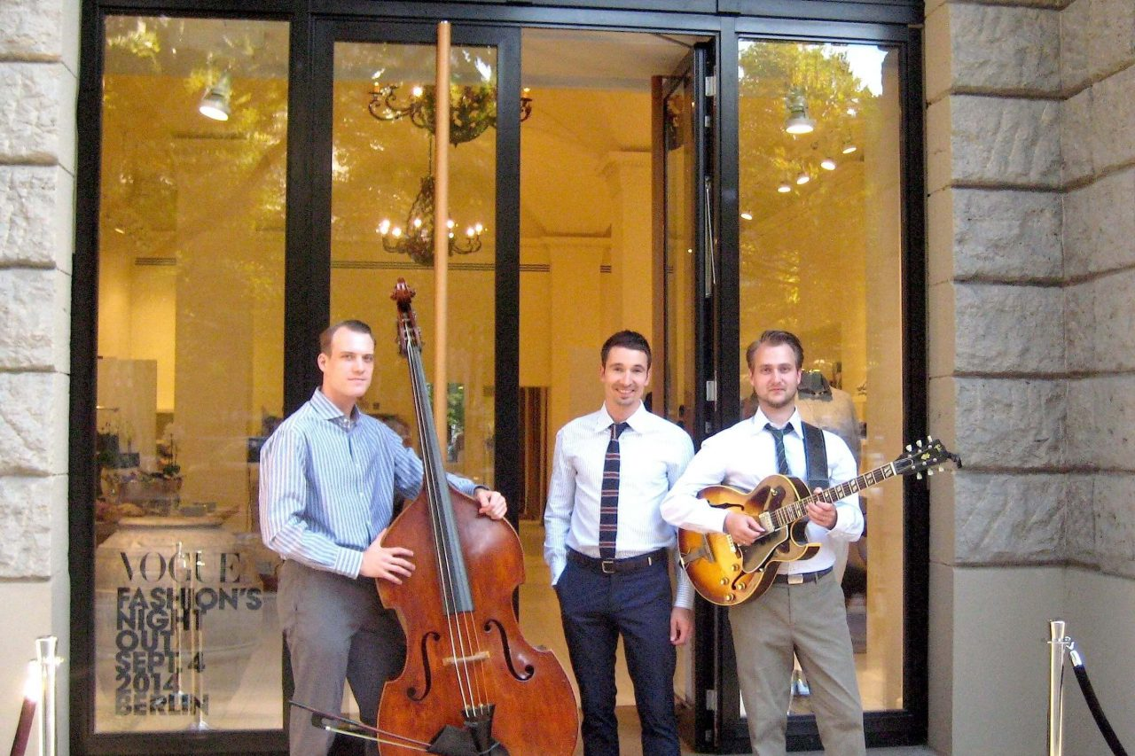 Musik Trio für Brunello Cucinelli