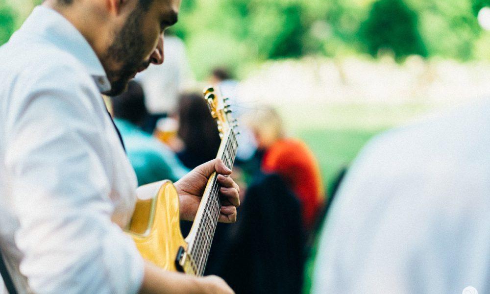 Sommerfest Live Gitarrist