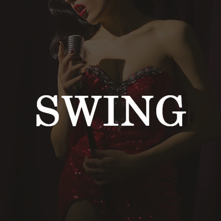Swing Band Jazzband Vocal Invitation