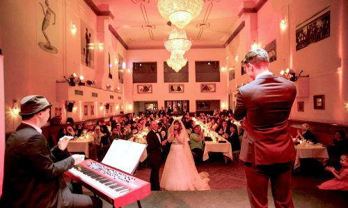 Coverband im Duo zum Hochzeitstanz