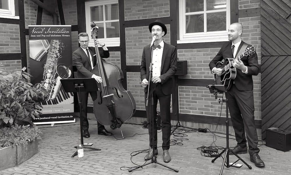 Jazz Musiker Auftritt