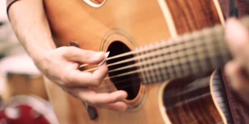Acoustik gitarre