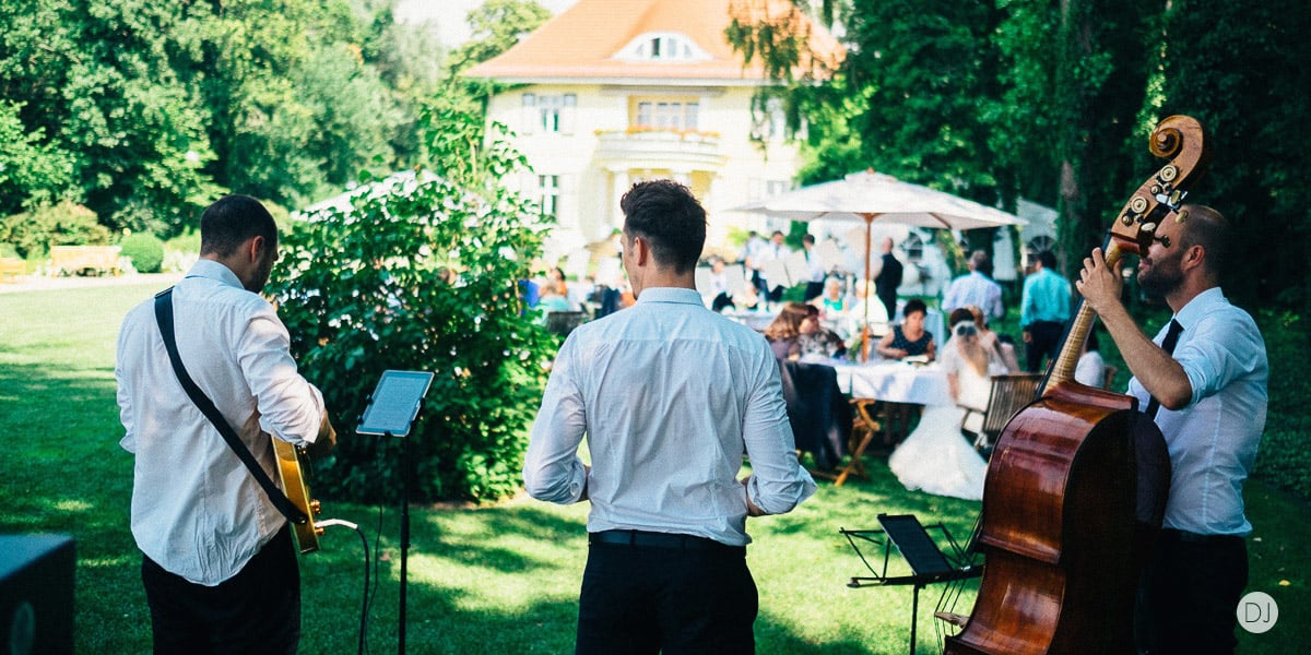Unplugged Band Hochzeit Empfang