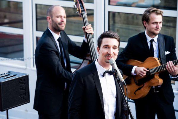 die Jazz Band als Trio