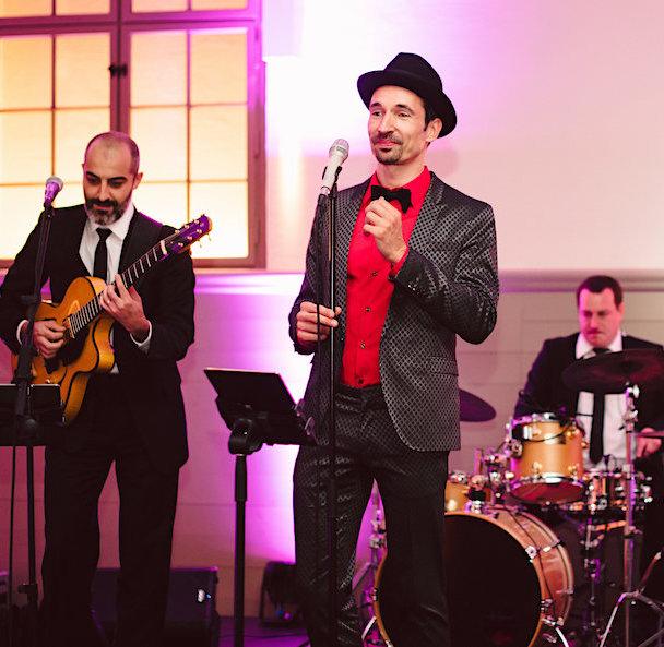 Band Weihnachtsfeier Quartett